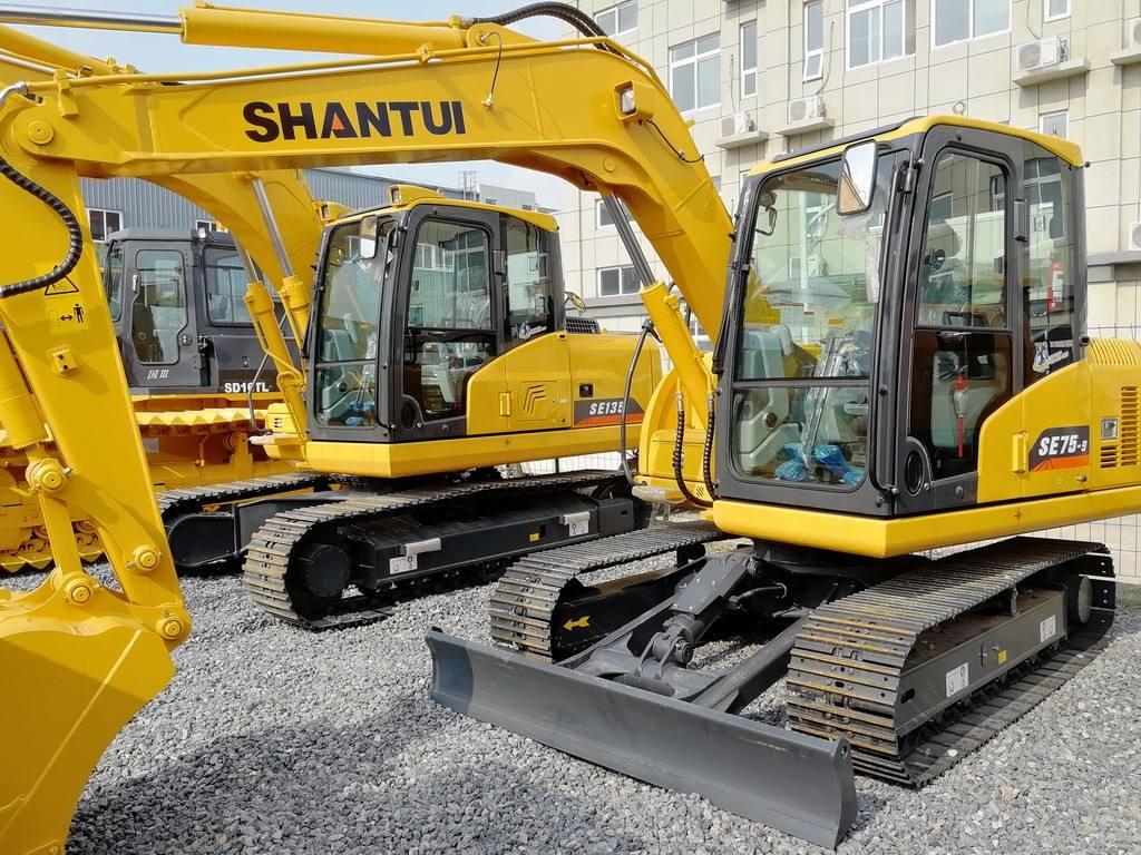 山推SE75-9挖掘机配置有哪些优势?
