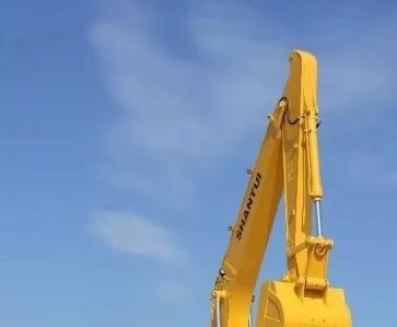山推SE220W挖掘机动臂